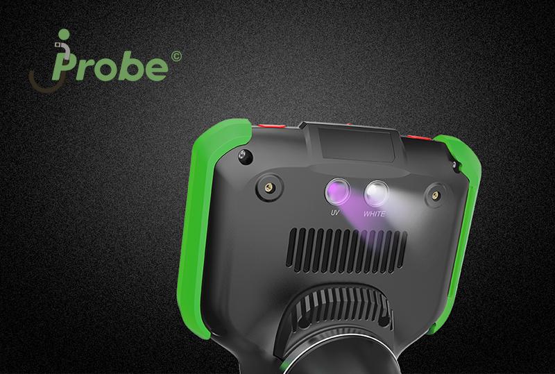 Видеоэндоскоп jProbe VJ-PRO светодиодные фонари встроенные в корпус базового блока