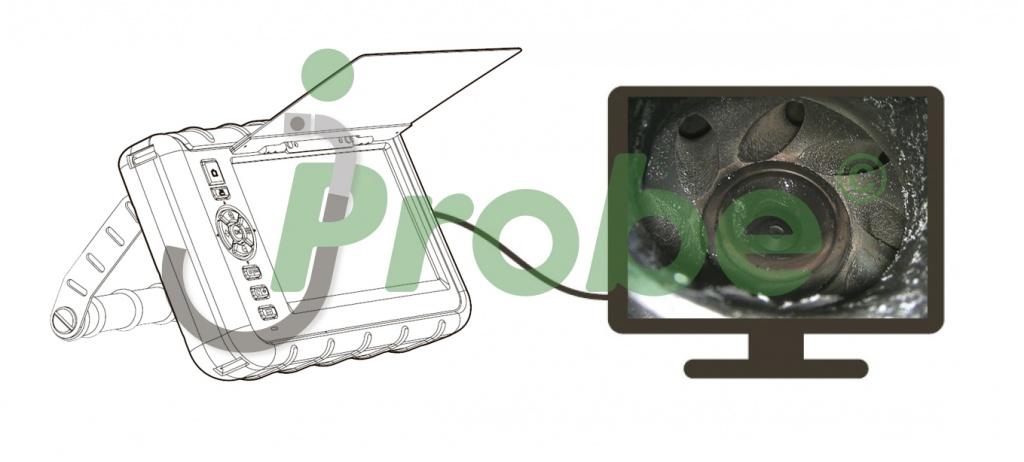 jProbe VE вывод изображения на внешний монитор