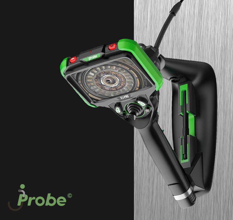 Видеоэндоскоп jProbe VJ-PRO съемная магнитная подставка с креплением для стилоса