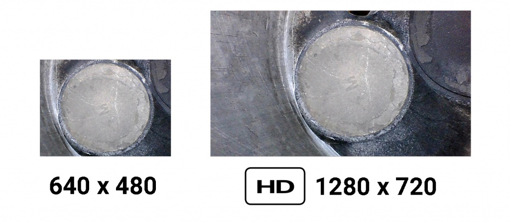 Разрешение видеоэндоскопов jProbe ST-NT_HD