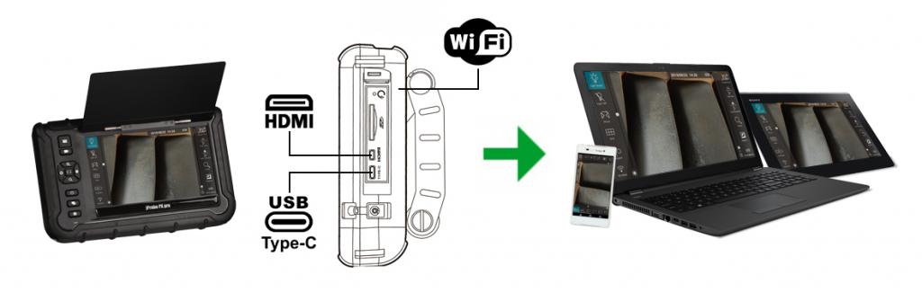 jProbe PX pro вывод изображения на внешние мобильные устройства