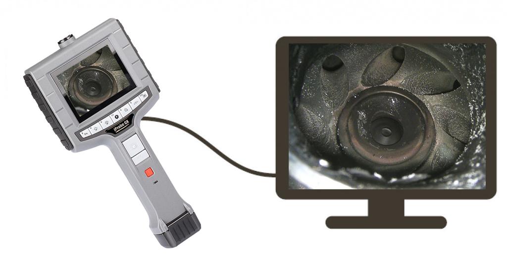 Вывод изображения на внешний монитор kProbe GX
