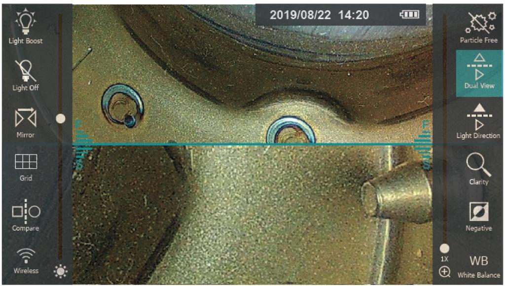 jProbe PX pro Dual View режим для использования адаптера с двойным обзором