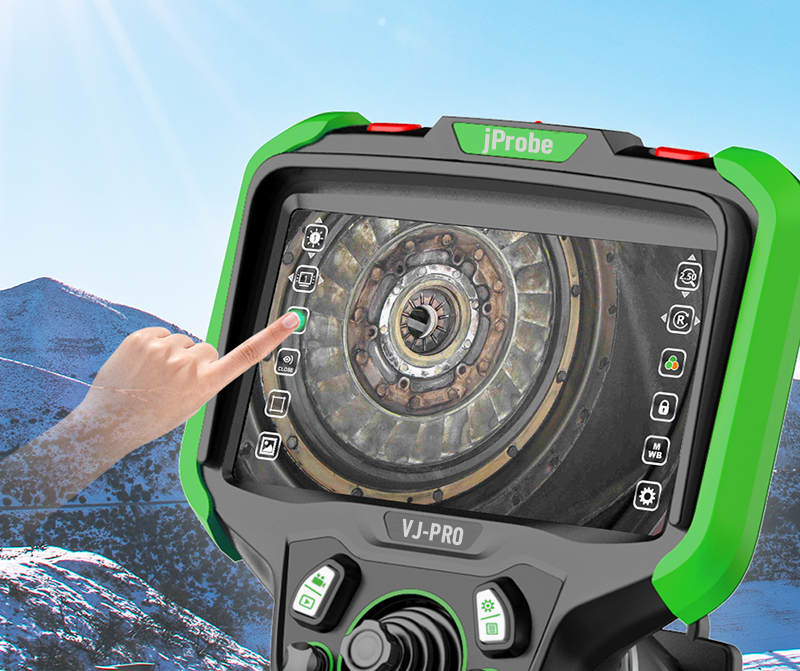 """Видеоэндоскоп jProbe VJ-PRO 5.5"""" сенсорный OLED дисплей (1920 x 1080) с антибликовым защитным покрытием"""