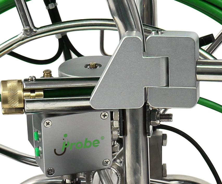Встроенный счетчик длины смотки кабеля jProbe PIPE.