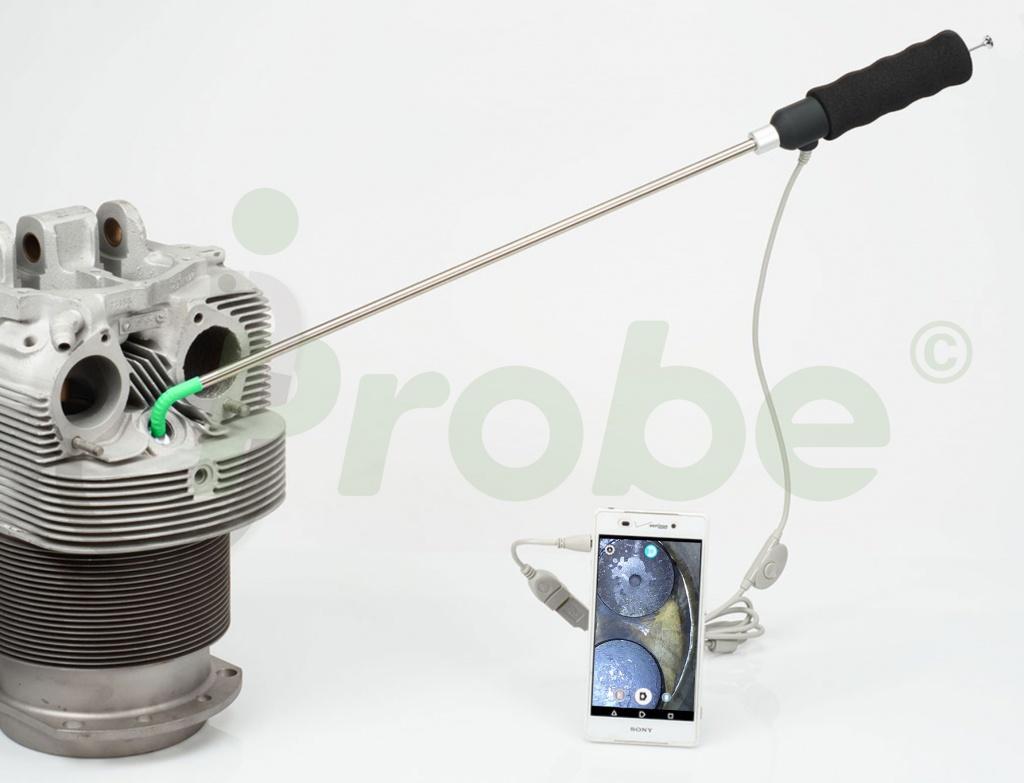 jProbe ST вывод изображения на смартфон
