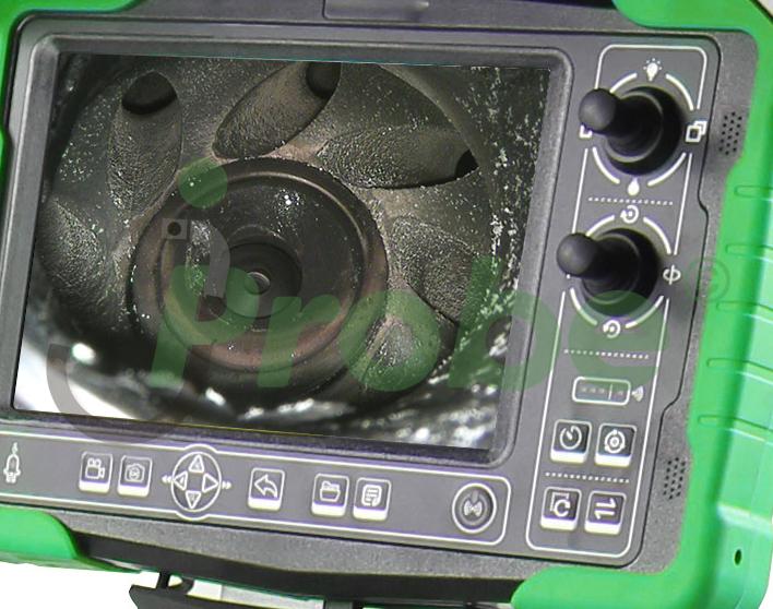 jProbe NX удобное управление системой телеинспекции при помощи горячих клавиш и джойстиков